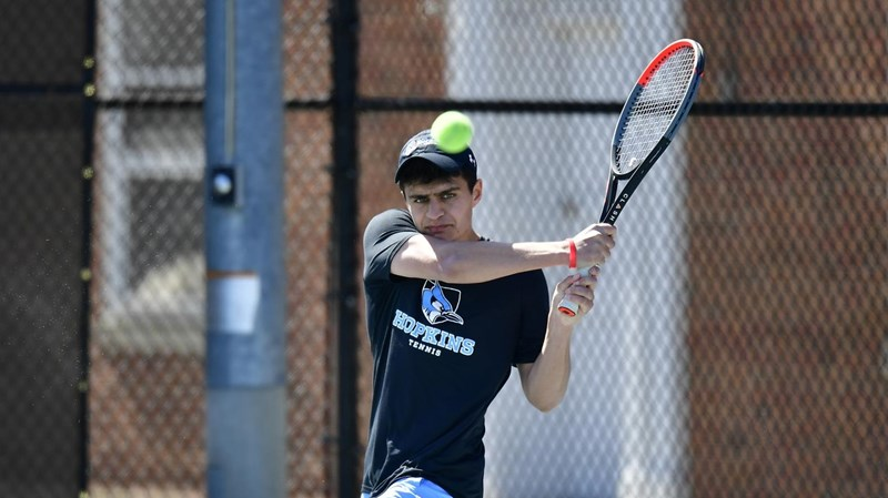 Joshi Named Centennial Conference Player of the Week - Johns Hopkins  University Athletics